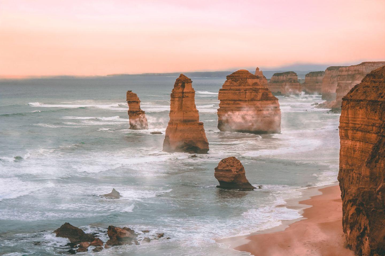 12 Apostel an der Küste Australiens