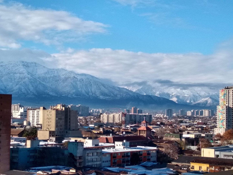Skyline von Santiago de Chile