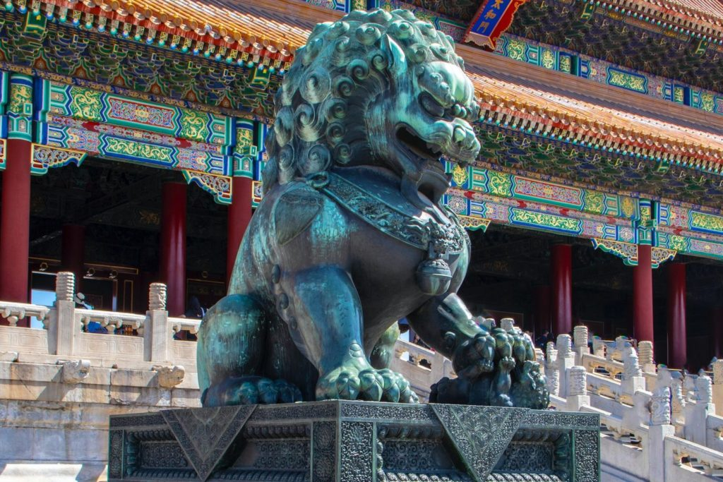 Statue in China