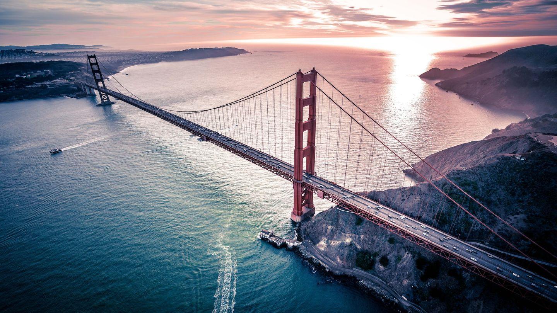 Golden Gate Bridge bei Work & Travel in den USA