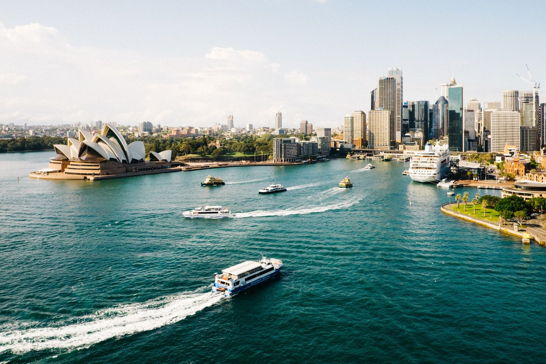Flug nach Australien - Sydney Oper