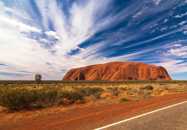 Uluru in Australien